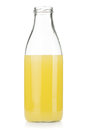 Lemon juice bottle Stock Photography