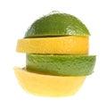 Lemon and Lime Royalty Free Stock Photo