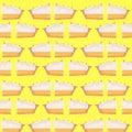 Lemon Meringue Pattern Illustration