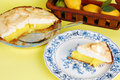 Lemon Meringue Pie Royalty Free Stock Photos