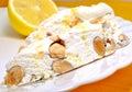 Lemon Nougat Royalty Free Stock Photo