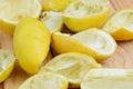 Lemon peel Royalty Free Stock Photo