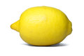 Lemon ripe siolated on white Stock Images
