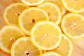 Lemon slices Royalty Free Stock Photos