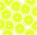 Lemon slices background design of bright yellow Royalty Free Stock Photo