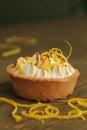 Lemon tart Royalty Free Stock Photo