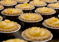 Lemon tarts Stock Photos