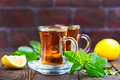 Lemon tea Royalty Free Stock Photo