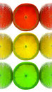 Lemon traffic light Royalty Free Stock Image