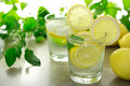 Lemon water Royalty Free Stock Photo