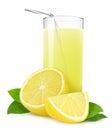 Isolated lemonade Royalty Free Stock Photo