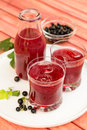 Lemonade with Blackcurrant Royalty Free Stock Photo