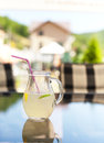 Lemonade fresh on a table Royalty Free Stock Images