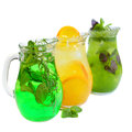 Lemonade pitcher Royalty Free Stock Photo