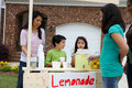 Lemonade Stand Royalty Free Stock Image
