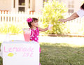 Lemonade Stand Sale Royalty Free Stock Image