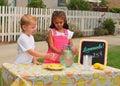 Lemonade Stand Royalty Free Stock Photo