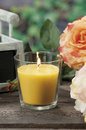 Lemongrass candles for mosquito's Royalty Free Stock Photo