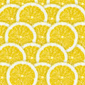 Lemons background sliced for texture or Stock Photo