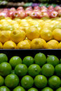 Lemons, Limes, Apples Royalty Free Stock Photos