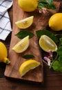 Lemons Still Life Royalty Free Stock Photo