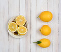 Lemons Still Life Royalty Free Stock Photo