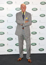 Len goodman arriving for the all new range rover unveiling london picture by alexandra glen featureflash Stock Photography