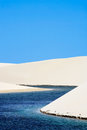 Lencois maranheses Photo stock