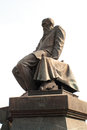 Lenin sculpture outside the national library in moscow Royalty Free Stock Photography