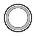 Lens photographic isolated icon