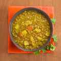 Lentil Curry Royalty Free Stock Photo