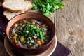 Lentil soup (stew) Royalty Free Stock Photo