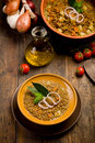 Lentils Soup Stock Photography