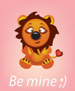 Leo be mine Royalty Free Stock Photo