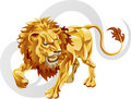 Leo the lion star sign Stock Photo