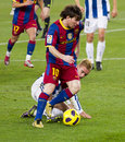 Leo Messi (FC Barcelona) Imagem de Stock Royalty Free