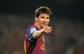 Leo Messi of FC Barcelona Royalty Free Stock Photos