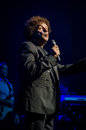 Leo sayer performing live in november Stock Image