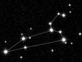 Leo zodiac Imagen de archivo libre de regalías