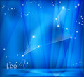 Leo Zodiac Background Fotos de Stock Royalty Free