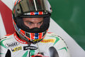 Leon Camier Aprilia RSV4 Factory Alitalia Royalty Free Stock Photo