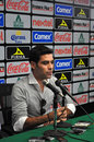 Leon guanajuato mexico december rafael marquez officially presented as new player club leon conducted press conference event fans Stock Photography