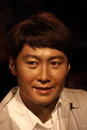 Leon lai wax statue at madame tussauds museum at hong kong he was the marxist and political leader Stock Images