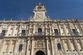 Leon Spain: San Marcos palace Royalty Free Stock Photo