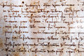 Leonardo da Vinci manuscript Royalty Free Stock Photo