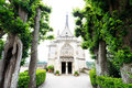 Leonardo Da Vinci tomb in Chateau d`Amboise Royalty Free Stock Photo