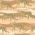 Leopard, Cheetah Surface Pattern, Panther camouflage Repeat Pattern for Textile Design, Fabric Printing, Stationary, Packaging, Wa