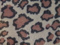 Leopard fabric Royalty Free Stock Photos