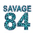 leopard patterned number, t-shirt graphic
