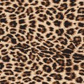 Leopard print repeat pattern - vector file. Royalty Free Stock Photo
